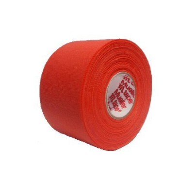M-Tape Colored Athletic Tape - Orange, 6 Rolls by Mueller