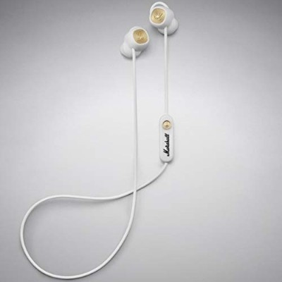 Marshall Headphones MINOR II BLUETOOTH White BLUETOOTHイヤホン マーシャルヘッドフォンズ