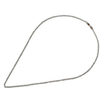 CHROME HEARTS ROLL CHAIN NECKLACE SILVER 24inch クロムハーツ ロールチェーン ネックレス 24インチ