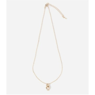 AZUL by moussy T/C CENTER CROSS NECKLACE アズールバイマウジー アクセサリー