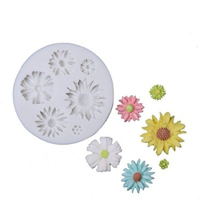 SK Sunflower Silicone Cookie Buiscuit Baking Moulds Decorating Craft Mould