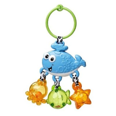 Infantino Link and Jingle Activity Rattle - Whale by Infantino