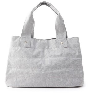 【grove(グローブ)】 2WAY あおりトートバッグ OUTLET > grove > バッグ・財布・小物入れ > トートバッグ ライトグレー