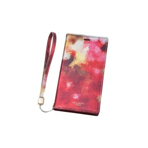 GRAMAS Gra Book PU Leather Case for iPhone X/XS○FLC60367 フィオ パソコン・モバイル雑貨