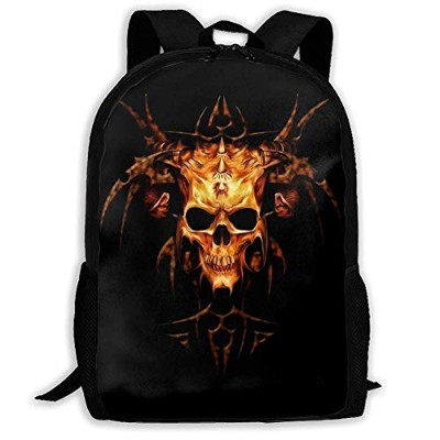 3a9ecb417207 リュックサック Music Heavy Metal 双肩バッグ バックパック Schoolbag for Mens and Womens 大容量