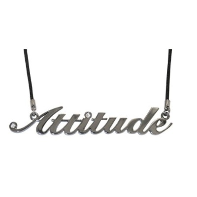 Attitude LargeペンダントPolished Hematite – By Inspired Treasures