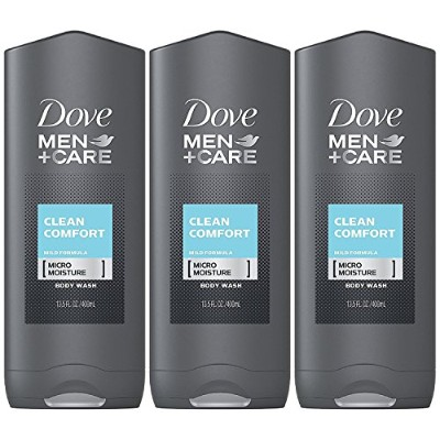 Dove Men Plus Care Body and Face Wash Clean Comfort , 13.5 Oz by Dove