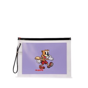 Marc Jacobs R. Crumb クラッチバッグ - パープル
