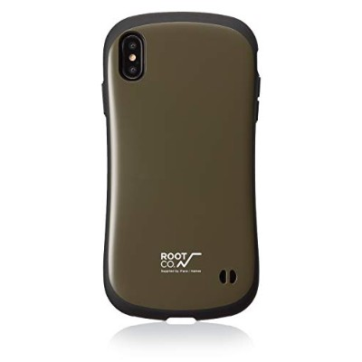 【ROOT CO.】iPhoneXS Max ケース Gravity Shock Resist Case. /ROOT CO.×iFace Model(カーキ)