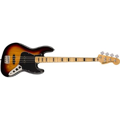 Squier by Fender エレキベース Classic Vibe '70s Jazz Bass®, Maple Fingerboard, 3-Color Sunburst
