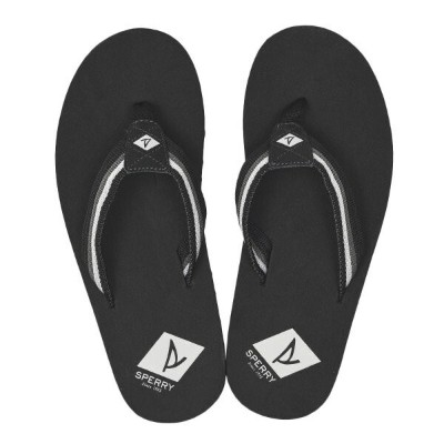 【SPERRY TOPSIDER】 スペリートップサイダー TOPSAIL THONG トップセイル トング STS19564 BLACK/GREY