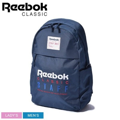 【SALE★最大400円OFFクーポン】送料無料 REEBOK リーボック バックパック ネイビー CL JWF スタッフ バックパック CL JWF STAFF BACKPACK DU7523...