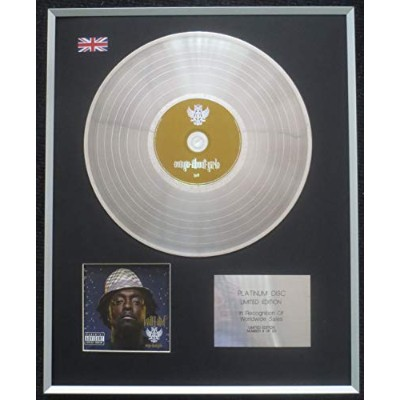 Will I Am - Limited Edition CD Platinum LP Disc - Songs About Girls