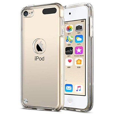 Gosento iPod touch 7 ケース クリスタル クリア 透明 iPod touch 6 / iPod touch7 TPU素材 iPod Touch 第7世代 2019 保護カバー ...