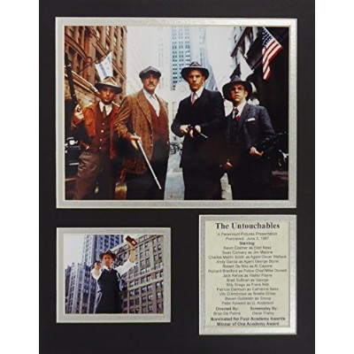 """The Untouchables 11 """" x 14 """" Unframed Matted写真コラージュby Legends Never Die , Inc"""