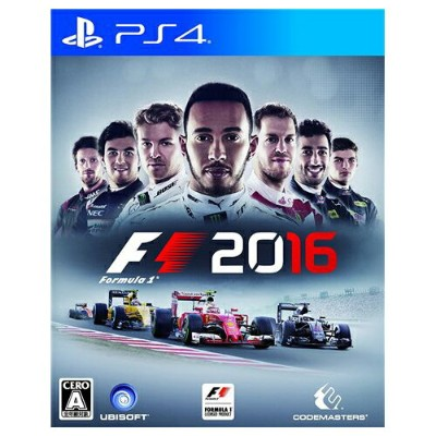 PS4 プレステ4 F1 2016 - PS4 ソフト ケースあり PlayStation4 SONY ソニー 4949244004084 【中古】