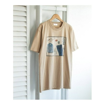 [Rakuten Fashion]LeftyArt×URBANRESEARCH別注T-SHIRTSwardrobe URBAN RESEARCH アーバンリサーチ カットソー Tシャツ ベージュ...