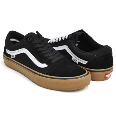 [バンズ] OLD SKOOL PRO BLACK/WHITE/MEDIUM GUM vn000zd4bw9-fba 22.5(4H) US [並行輸入品]