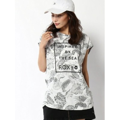 【SALE/30%OFF】ROXY (W)INSPIRED BY THE SEA ロキシー カットソー Tシャツ ホワイト オレンジ