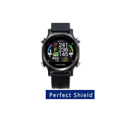 【Perfect Shield】液晶保護フィルム (朝日ゴルフ EAGLE Vision watch ACE EV-933用)