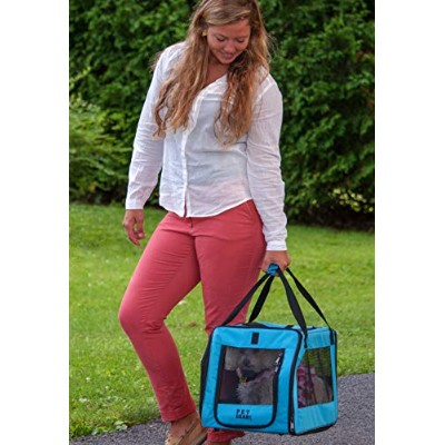 Pet Gear Signature Pet Car Seat & Carrier for cats and dogs up to 20-pounds, Aqua by Pet Gear
