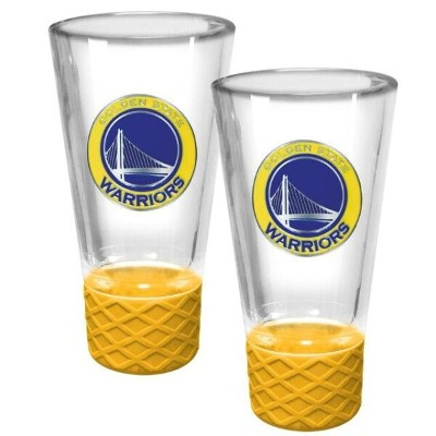 Golden State Warriors 2-Pack Cheer Shot Set with Silicone Grip ユニセックス