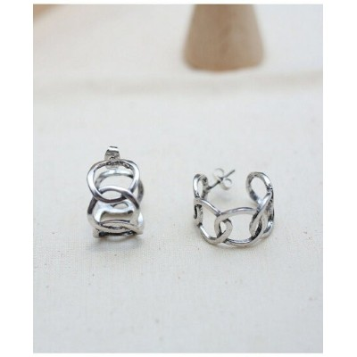Nothing And Others NothingAndOthers/Chain Pierce ナッシングアンドアザーズ アクセサリー ピアス シルバー【送料無料】