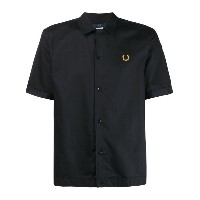 Fred Perry ロゴ シャツ - ブラック