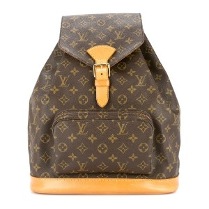Louis Vuitton Pre-Owned Montsouris GM バックパック - ブラウン