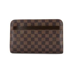 Louis Vuitton Pre-Owned Saint Louis クラッチバッグ - ブラウン