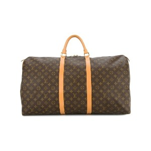 Louis Vuitton Pre-Owned Keepall 60 ボストンバッグ - ブラウン