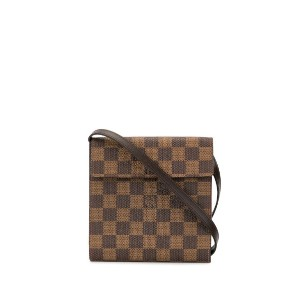 Louis Vuitton Pre-Owned Japan 20th Anniversary ダミエ CD ケース - ブラウン