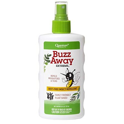 海外直送品 Quantum Research Buzz Away Extreme Spray, 8 oz