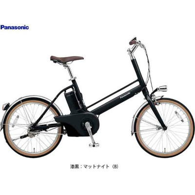 """【Panasonic】(パナソニック)Jコンセプト BE-JELJ012A 電動アシストミニベロ20""""(自転車)"""
