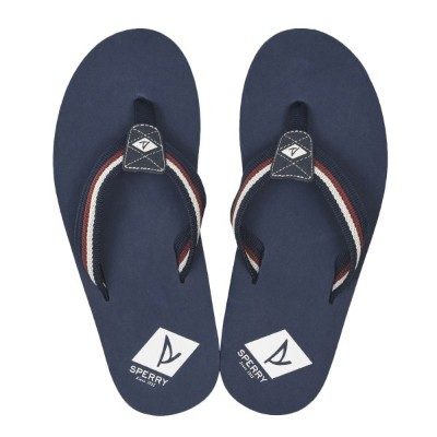 【SPERRY TOPSIDER】 スペリートップサイダー TOPSAIL THONG トップセイル トング STS19154 NAVY/RED