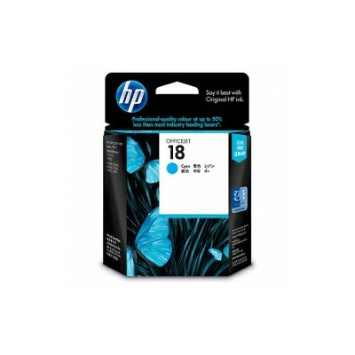 hp純正インク hp18 C4937A シアン