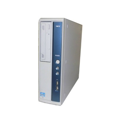 Windows7 Pro 32bit NEC Mate MK32MB-F (PC-MK32MBZCF) Corei5 3470 3.2GHz 2GB 250GB DVD-ROM 中古パソコン...