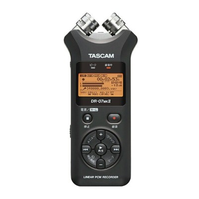 TASCAM DR-07MKII VER2 リニアPCMレコーダー