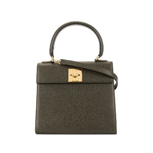 Céline Pre-Owned ロゴ 2way バッグ - グリーン