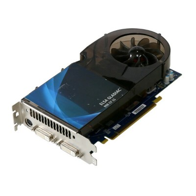ELSA GeForce 9800 GT 512MB DVI *2/TV-out PCI Express 2.0 x16 GD998-512EBSS【中古】