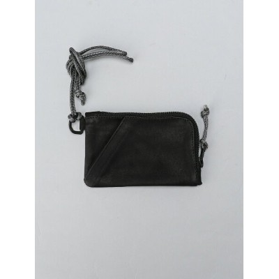 OUT LEATHER OUT LEATHER/(U)E-CIG WALLET TYPE ダマスキーナ 財布/小物 財布 ブラック【送料無料】