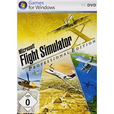 Microsoft Flight Simulator X Professional Edition (ドイツ版)