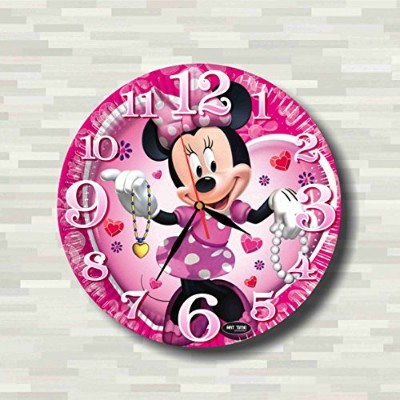 ミニーマウス Minnie Mouse 29 cm Handmade Wall Clock