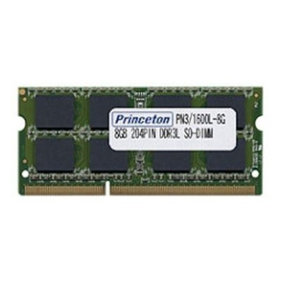 プリンストン PDN3/1600L-8G PC3L-12800(DDR3L-1600) CL=11 204PIN SO-DIMM 8GB PDN3/1600L-8G