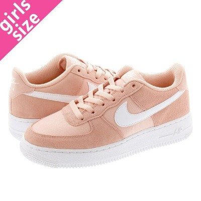 NIKE AIR FORCE 1 PE GS ナイキ エア フォース 1 PE GS CORAL STARDUST/WHITE bv0064-600