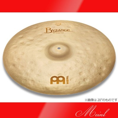 "Meinl Byzance Vintage Vintage Crashes B22VC (22"") 《クラッシュシンバル》【送料無料】[B22VC]【ONLINE STORE】"