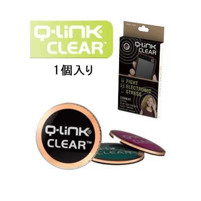 Q-Link(キューリンク) クリア  1個入り  日本正規品