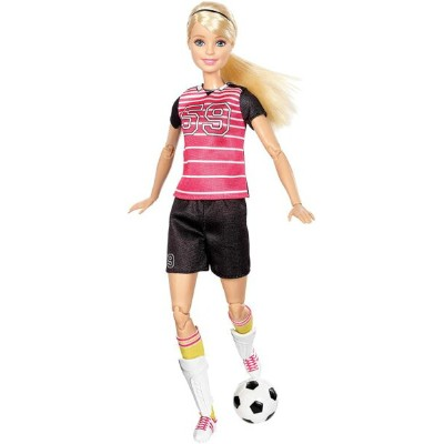 Barbie バービー Made to Move The Ultimate Posable Soccer Player doll 人形 送料無料 【並行輸入品】