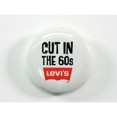 Levi's JEANS GOODS【リーバイスジーンズ】リーバイス オリジナル OUT IN THE 60S 缶バッチ 1023max10