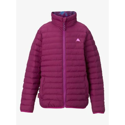 Kids' Burton Reversible Flex Puffy Jacket 2018FW Grapeseed / Gigit Surf Stripe